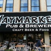 9/18/2012 tarihinde Pablo M.ziyaretçi tarafından Haymarket Pub & Brewery'de çekilen fotoğraf
