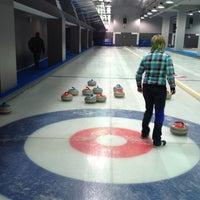 Снимок сделан в Московский кёрлинг-клуб / Moscow Curling Club пользователем Anastasiya M. 2/14/2013