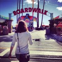 11/10/2012 tarihinde Albert A.ziyaretçi tarafından Santa Cruz Beach Boardwalk'de çekilen fotoğraf