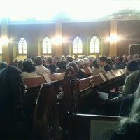 Foto tomada en Iglesia Luterana de La Santa Cruz en Valparaíso por Roki N. el 12/24/2012