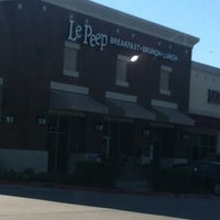 ... Photo taken at Le Peep by Jackie C. on 10/14/2012 ...
