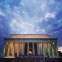 Photo prise au Mémorial Lincoln par Angelica le7/25/2013