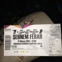 5/21/2013 tarihinde Serap A.ziyaretçi tarafından Bursa Açık Hava Tiyatrosu'de çekilen fotoğraf