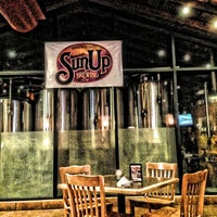 Photo taken at SunUp Brewing Co. by Carlo D. on 11/17/2012