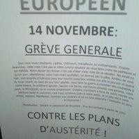 Снимок сделан в Campus de l'UCL пользователем Pierre p. 11/14/2012