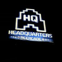 Das Foto wurde bei Headquarters Beercade von Daisy am 6/22/2013 aufgenommen