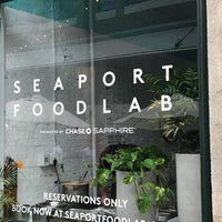 Photos At Seaport Foodlab Financial District New York Ny