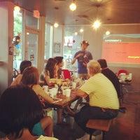 Снимок сделан в Taza. A social coffee house. пользователем sonny m. 7/19/2013