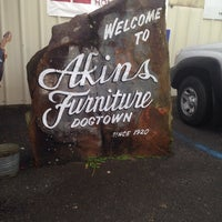 Photo Taken At Akins Furniture Dogtown By Candy F On 1 3