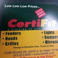 Certifit Automotive Shop In El Paso
