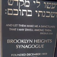 Brooklyn Heights Synagogue - Brooklyn Heights - 131 Remsen St