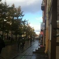Снимок сделан в Андреевский бульвар пользователем Elli N. 11/7/2012