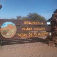 Foto tomada en Parque Nacional Sierra de las Quijadas por Miguel L. el 8/17/2013