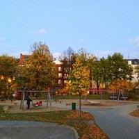 Das Foto wurde bei Spielplatz Zeiseweg von Daniel K. am 10/27/2013 aufgenommen