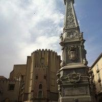 Foto scattata a Piazza San Domenico Maggiore da Andrea U. il 4/20/2013