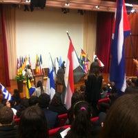 2/8/2013 tarihinde Polina K.ziyaretçi tarafından European University Cyprus'de çekilen fotoğraf