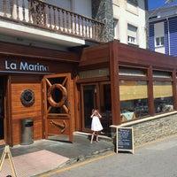 Foto tomada en Restaurante La Marina Puerto De Vega por Daniel M. el 8/18/2016