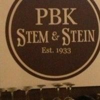 Foto scattata a PBK Stem & Stein da Luisa S. il 2/14/2013