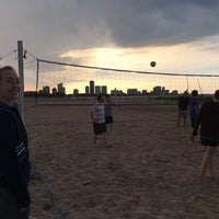 Photo Taken At Montrose Beach Volleyball Courts By N Felipe M On 7