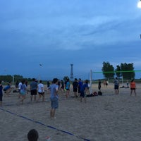 Photo Taken At Montrose Beach Volleyball Courts By N Felipe M On 6