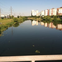 รูปภาพถ่ายที่ Троєщинський канал โดย Maksim K. เมื่อ 6/14/2013
