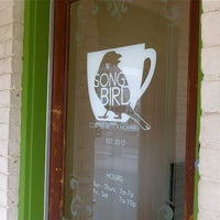 Photo taken at Songbird Coffee & Tea House by Songbird Coffee & Tea House on 5/13/2015