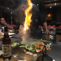 10/28/2014 tarihinde Melanie N.ziyaretçi tarafından Ohjah Japanese Steakhouse Sushi & Hibachi'de çekilen fotoğraf