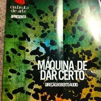 Das Foto wurde bei Teatro da Universidade de São Paulo (TUSP) von Dulce Helena Melchiori N. am 10/27/2012 aufgenommen