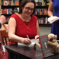 Photo taken at Barnes & Noble by Brenda on 4/6/2013