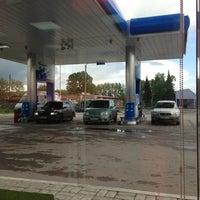 Снимок сделан в Газпромнефть АЗС № 93 пользователем Самый 🙏 Самый 6/12/2013