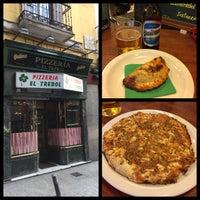 Das Foto wurde bei Pizzería El Trébol von Jose R. am 12/22/2016 aufgenommen