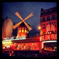 Das Foto wurde bei Moulin Rouge von Anna A. am 1/2/2013 aufgenommen