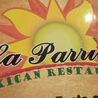 Foto tomada en La Parrilla Mexican Restaurant por Jordan P. el 3/27/2013