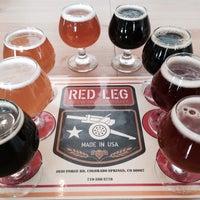 4/27/2014 tarihinde Josh T.ziyaretçi tarafından Red Leg Brewing Company'de çekilen fotoğraf