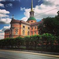 Снимок сделан в Михайловский (Инженерный) замок пользователем Aleksandr P. 7/3/2013