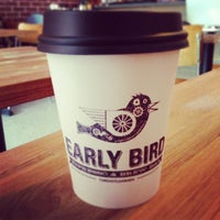Foto tirada no(a) Early Bird Espresso & Brew Bar por Jaana em 8/2/2013