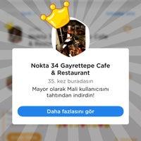 10/3/2018 tarihinde yuNs C.ziyaretçi tarafından Nokta 34 Gayrettepe Cafe & Restaurant'de çekilen fotoğraf