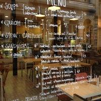 11/13/2012 tarihinde Maxime E.ziyaretçi tarafından Yeti Cantine Moderne'de çekilen fotoğraf