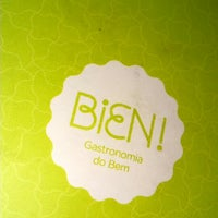 รูปภาพถ่ายที่ Bien! Gastronomia Funcional โดย Beny Gabriel A. เมื่อ 1/11/2015