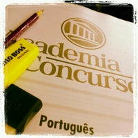 Das Foto wurde bei Academia do Concurso von Camila P. am 10/17/2012 aufgenommen