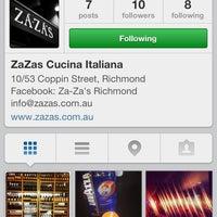 Das Foto wurde bei ZaZa's Cucina von Rosina L. am 11/6/2013 aufgenommen