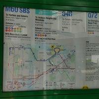 MTA Bus - LGA Internal Roadway & Terminal B (M60/Q48/Q70/Q72 ... Q Bus Map on