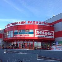 Снимок сделан в ТК «Митинский радиорынок» пользователем Aleksandr T. 1/26/2013