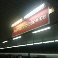 Снимок сделан в Metro =C= Nádraží Holešovice пользователем Ven D. 11/10/2012
