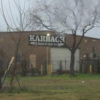 Снимок сделан в Karbach Brewing Co. пользователем Scott C. 3/10/2013