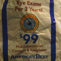29aaf22306c Photo taken at America amp  39 s Best Contacts  amp amp  Eyeglasses ...