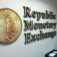 Photo Taken At Republic Monetary Exchange By Tyler H On 5 16 2017