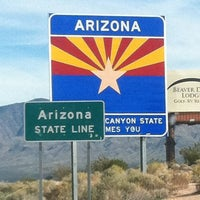 Photo taken at Arizona / Nevada State Line by Christopher M. on 11/22/2011
