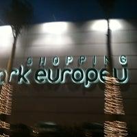 รูปภาพถ่ายที่ Shopping Park Europeu โดย Renato M. เมื่อ 12/8/2011
