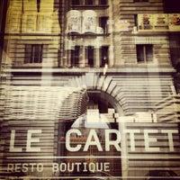 Photo prise au Le Cartet Resto Boutique par Cesar le4/15/2012